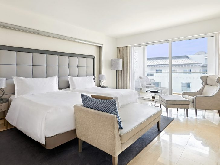Conrad Algarve Deluxe Twin Room With Pool View