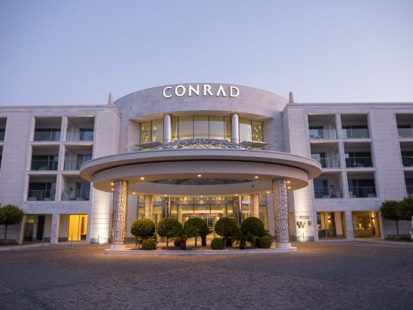 Conrad Algarve Exterior Night View