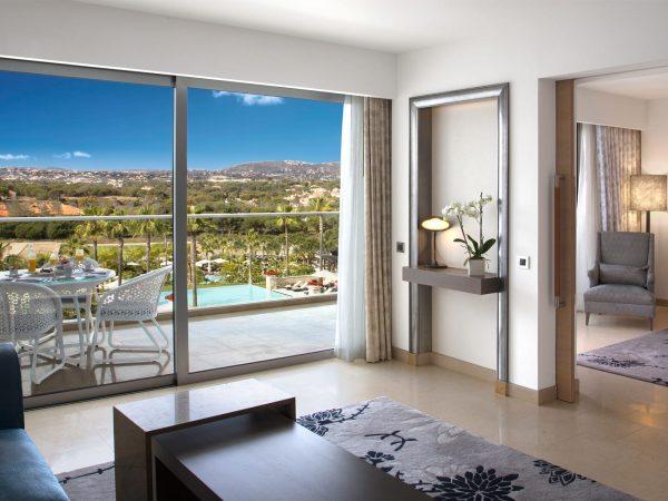 Conrad Algarve Grand Deluxe Suite With Pool View