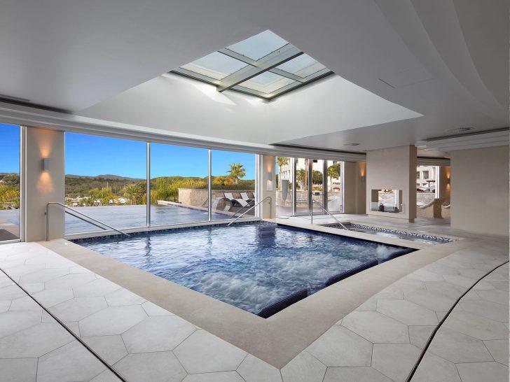 Conrad Algarve spa pool