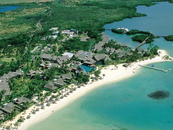 Constance Halaveli Maldives Aerial