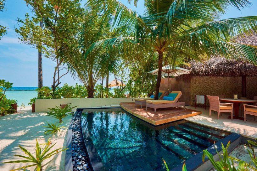 Constance Halaveli Maldives Beach Villa