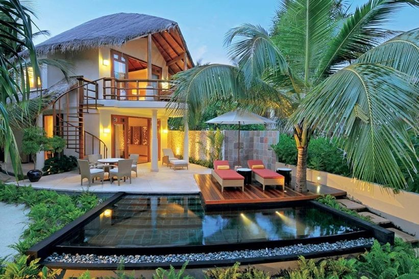 Constance Halaveli Maldives Double Storey Beach Villa