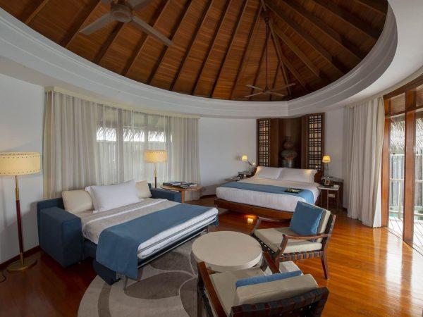 Constance Halaveli Maldives Family Water Villa