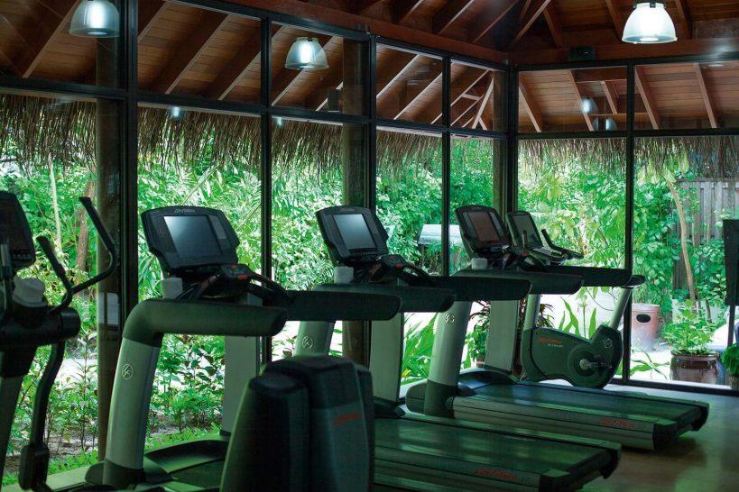 Constance Halaveli Maldives Gym