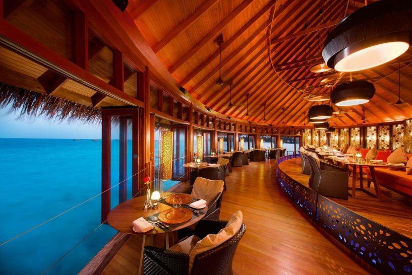 Constance Halaveli Maldives Jing Restaurant