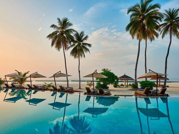 Constance Halaveli Maldives Main Pool