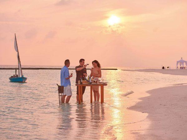 Constance Halaveli Maldives Sunset View