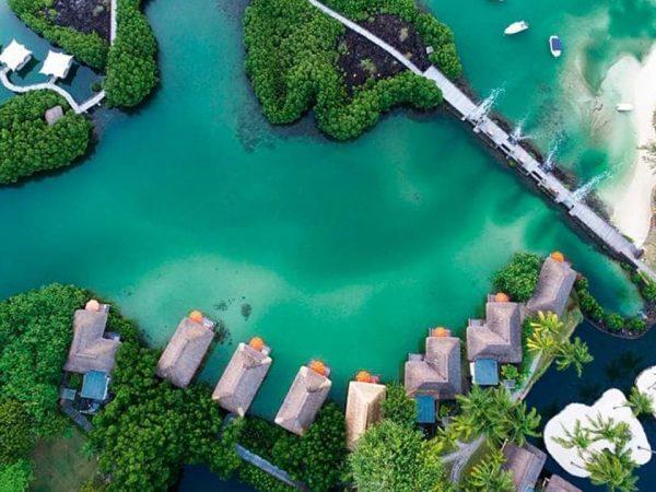 Constance Halaveli Maldives Top View
