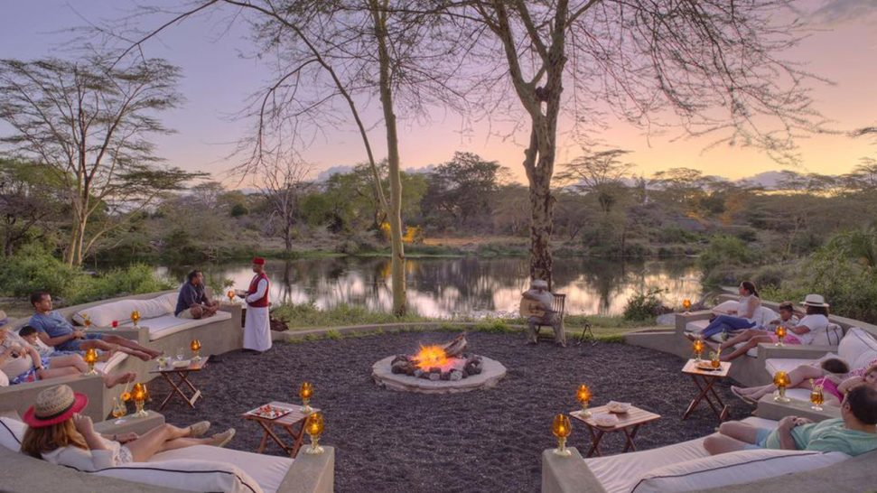 Finch Hattons Luxury Tented Camp Bush Dining