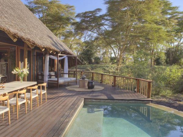 Finch Hattons Luxury Tented Camp Lobby