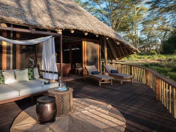 Finch Hattons Luxury Tented Camp Lobby View