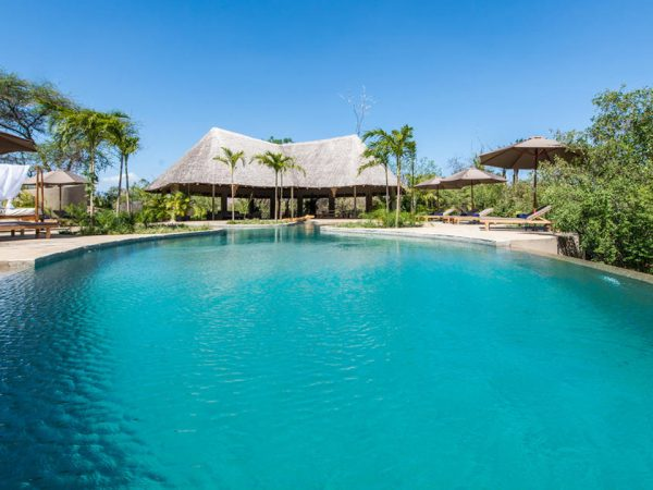 Finch Hattons Luxury Tented Camp Pool