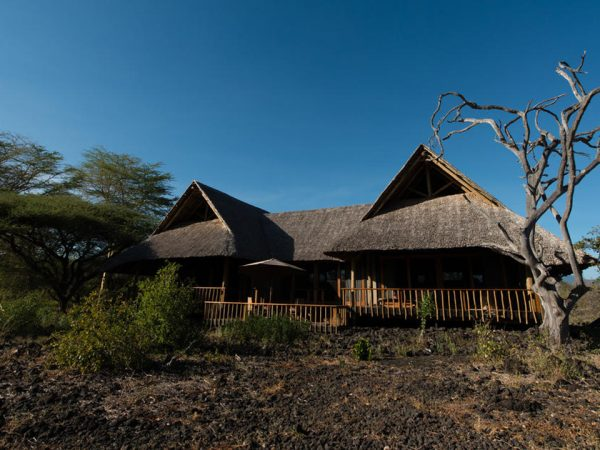 Finch Hattons Luxury Tented Camp View