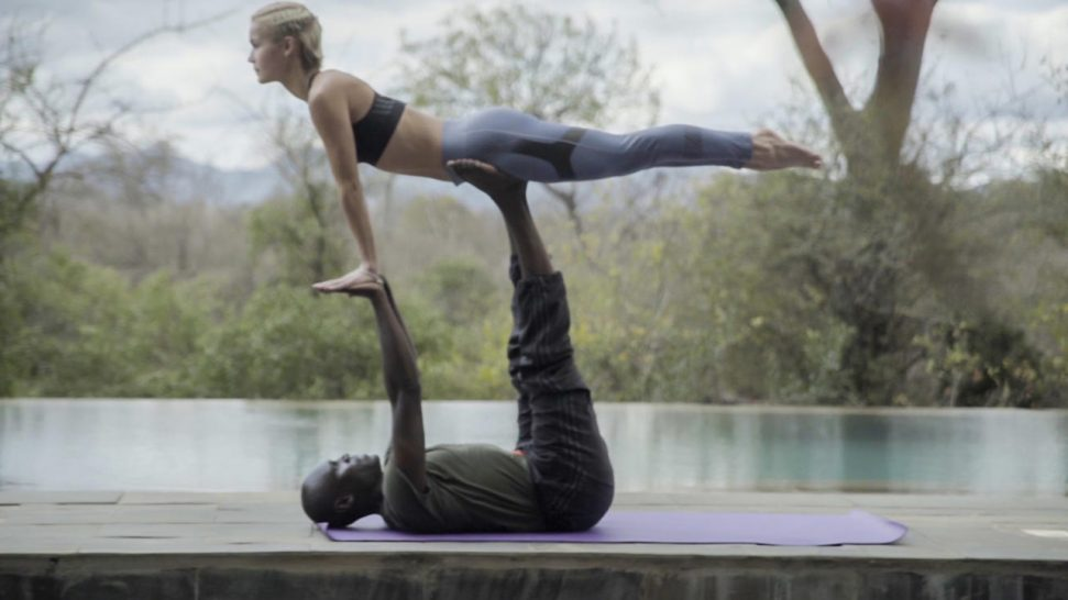 Finch Hattons Luxury Tented Camp Yoga
