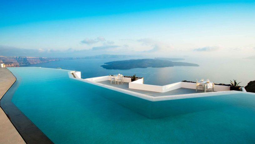 Grace hotel Santorini Pool
