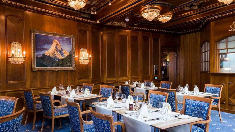 Grand Hotel Zermatterhof Brasserie Lusi