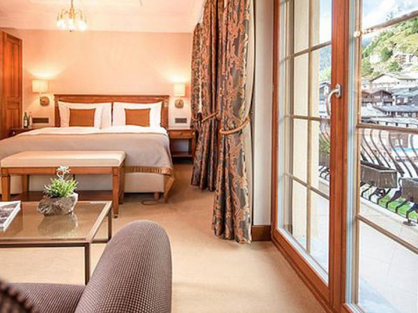 Grand Hotel Zermatterhof Deluxe Double Room