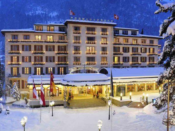 Grand Hotel Zermatterhof Exterior