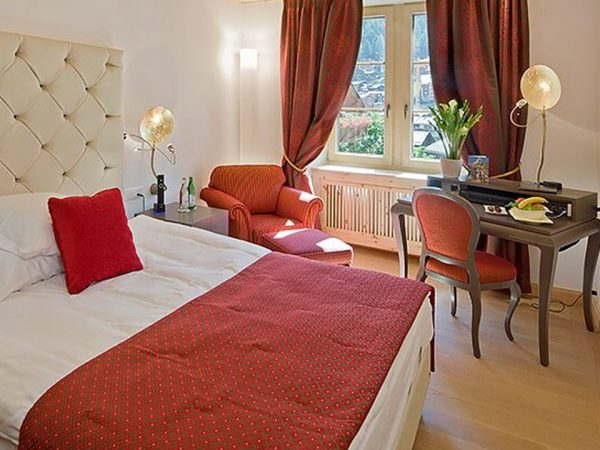 Grand Hotel Zermatterhof Single Room