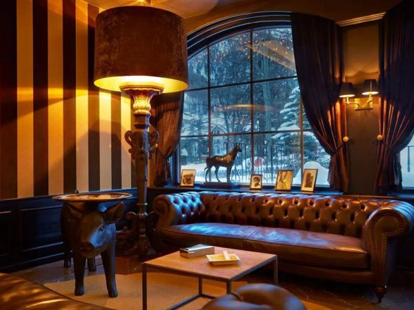 Grand Hotel Zermatterhof Smokers Lounge