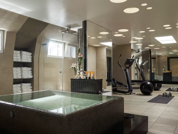 Grand hotel stockholm Gym View