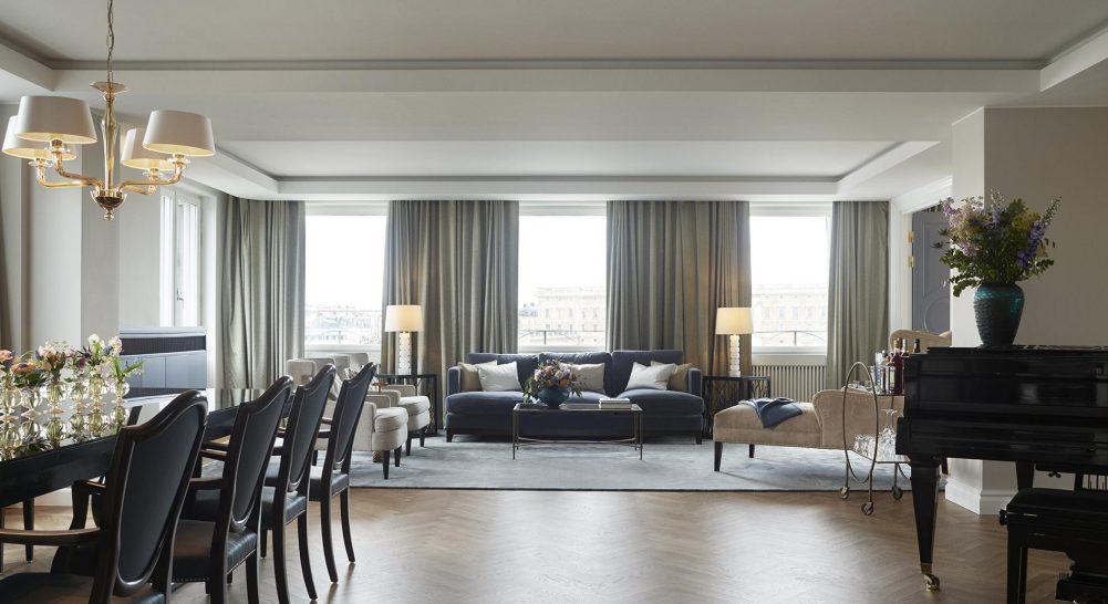 Grand hotel stockholm Princess Lilian Suite