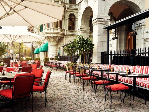 Grand hotel stockholm Terrace