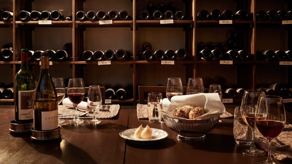 Grand hotel stockholm Wine Cellar