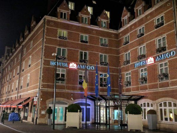 Hotel Amigo Front
