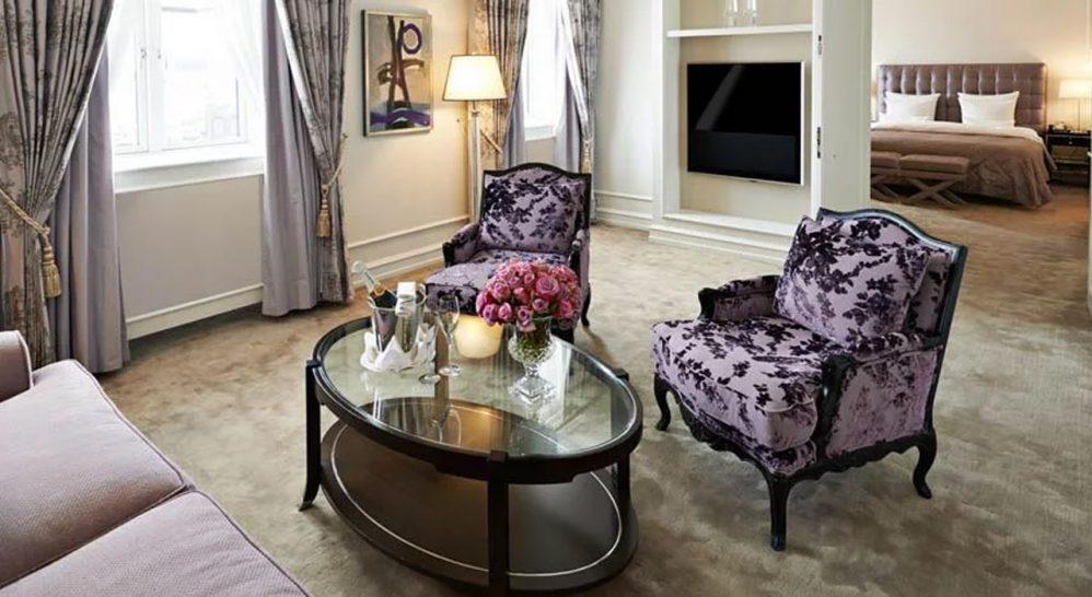 Hotel D'Angleterre Deluxe One Bedroom Suite
