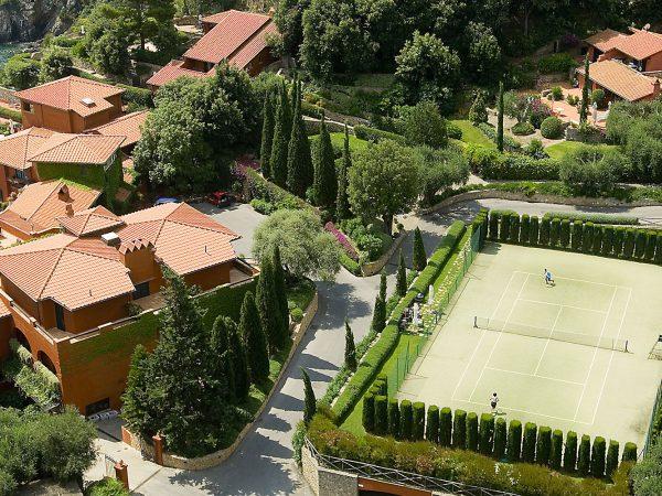 Hotel Il Pellicano Tennis Court