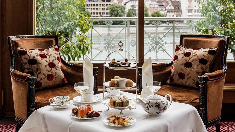 Hotel Les Trois Rois Afternoon Tea