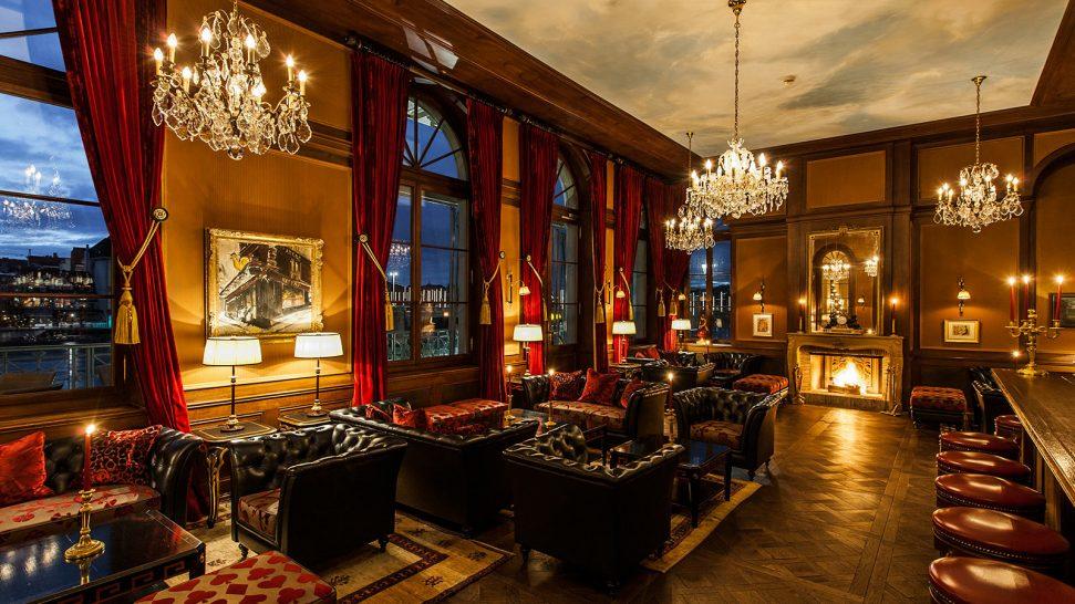 Hotel Les Trois Rois Bar