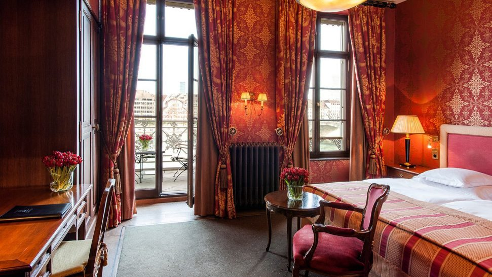 Hotel Les Trois Rois Double Rooms