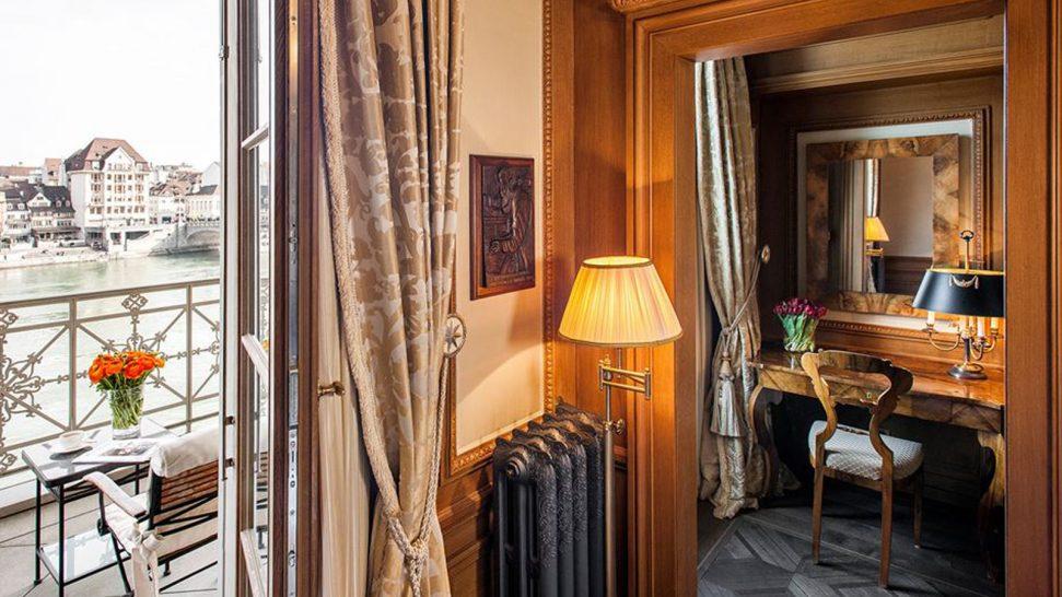 Hotel Les Trois Rois Herzl Room