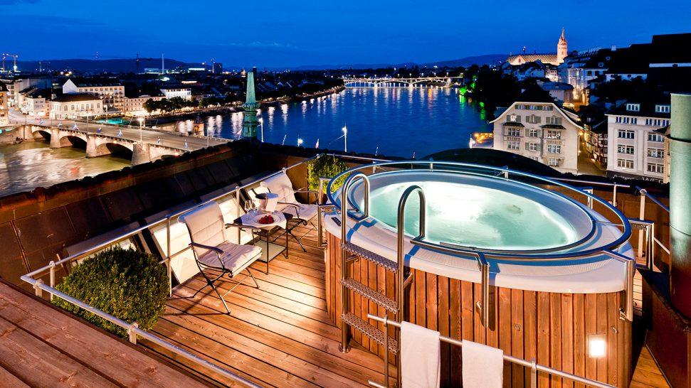 Hotel Les Trois Rois Pool