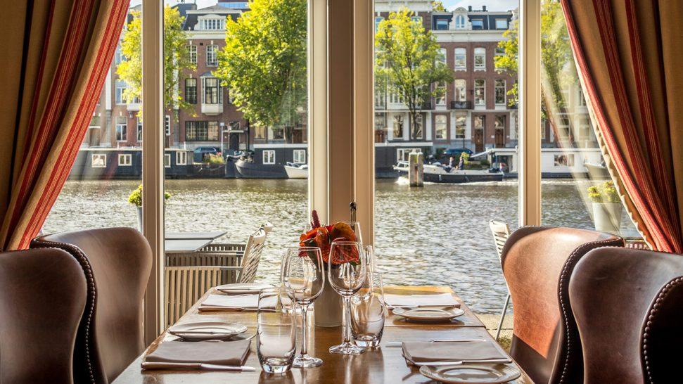 InterContinental Amstel Amsterdam Wine Room