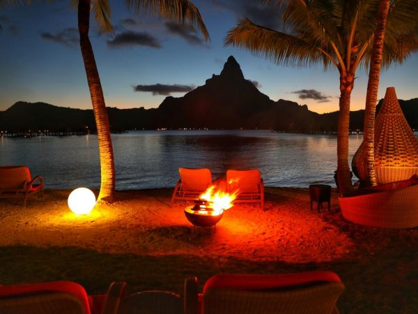 InterContinental Bora Bora Resort Thalasso Spa Night Time