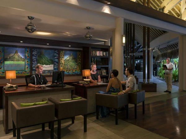 InterContinental Bora Bora Resort Thalasso Spa Reception