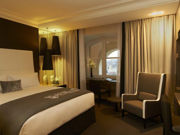 InterContinental Marseille Hotel Dieu Deluxe Harbour View Room.