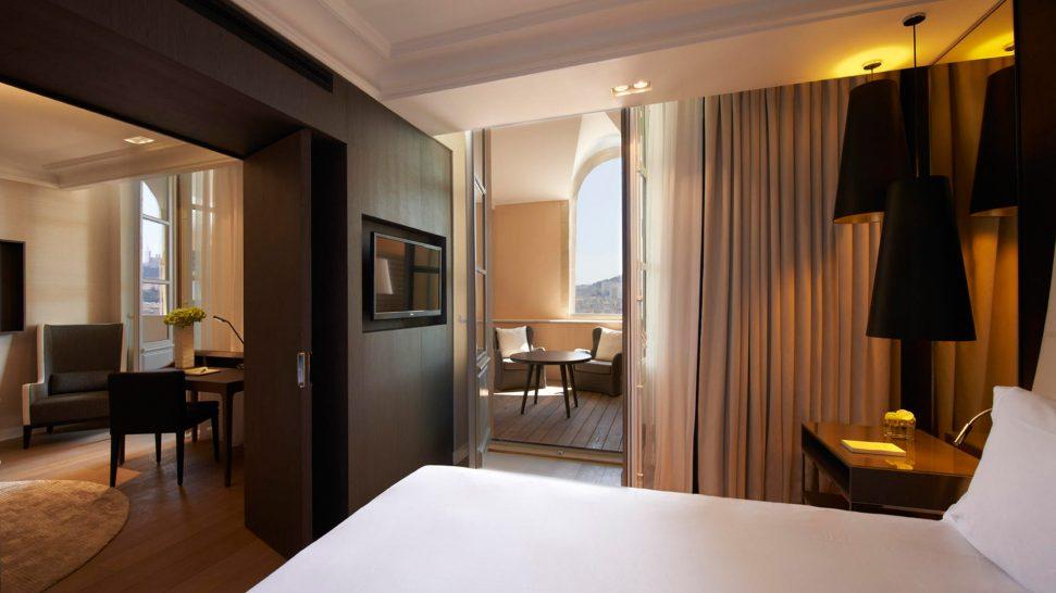 InterContinental Marseille Hotel Dieu Junior Suite Terrace
