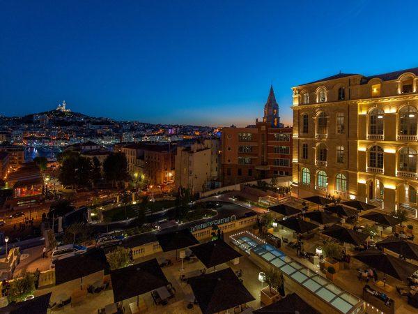 InterContinental Marseille Hotel Dieu Night View
