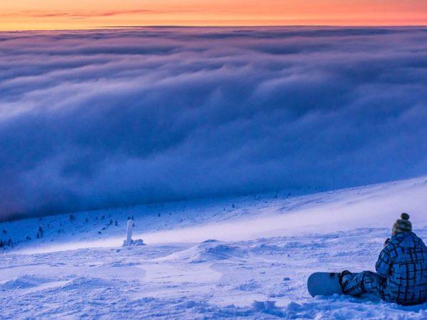 Kakslauttanen Arctic Resort Downhill Skiing Snowboarding