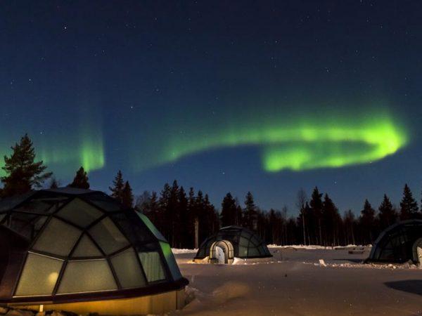 Kakslauttanen Arctic Resort Glass Igloos