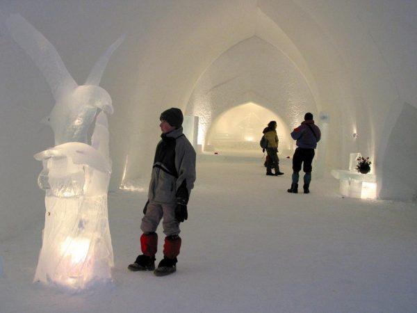 Kakslauttanen Arctic Resort Interior