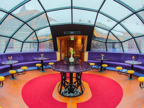 Kakslauttanen Arctic Resort Interior View