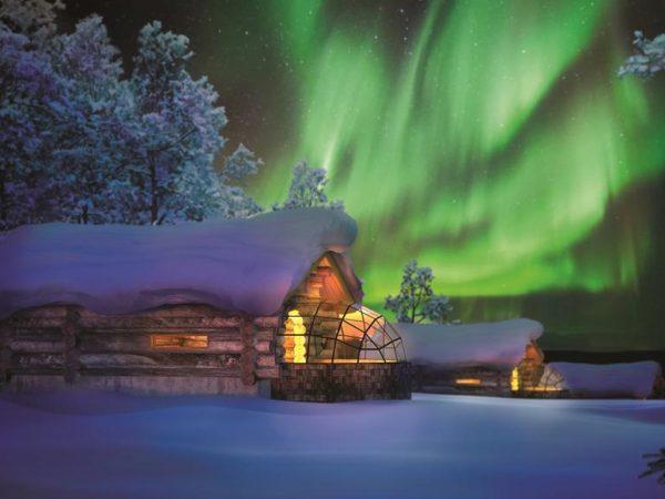 Kakslauttanen Arctic Resort Kelo Glass Igloo