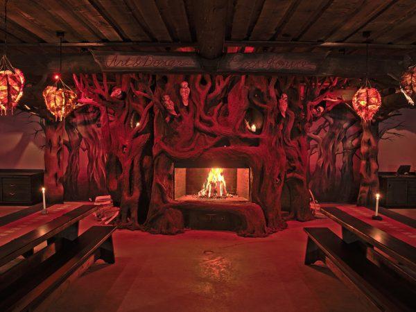 Kakslauttanen Arctic Resort Korsu Restaurant