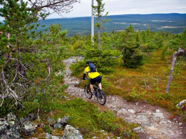 Kakslauttanen Arctic Resort Mountain Biking